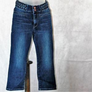 Soho High Waist Cropped Leggings Size 8